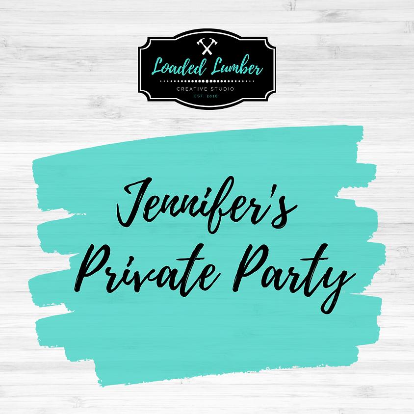 Jennifer's Private Party