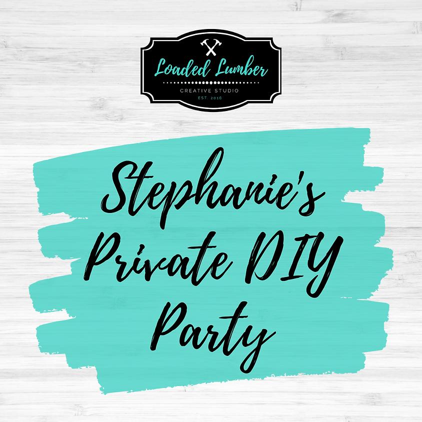 Stephanie's DIY Private Party