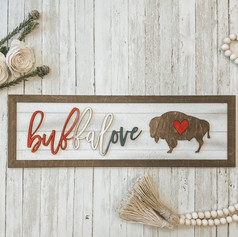 Buffalove Farmhouse Sign, 40