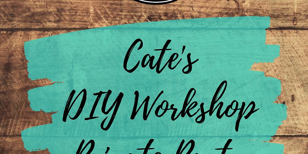 Cate's Private DIY Workshop