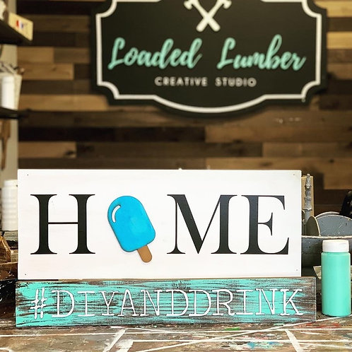 Home Sign Interchangeable DIY Kit