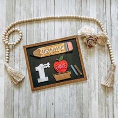 Interchangeable School Sign, $40
