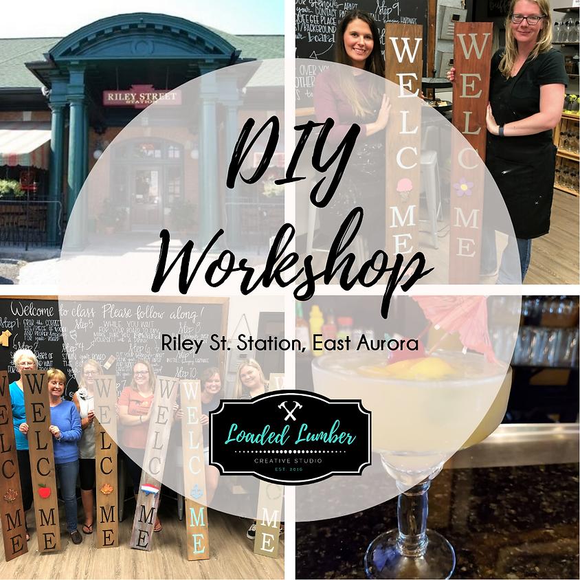 DIY Workshop at Riley St. Station