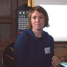 4/2009 Program Meeting:  Sarah Bank