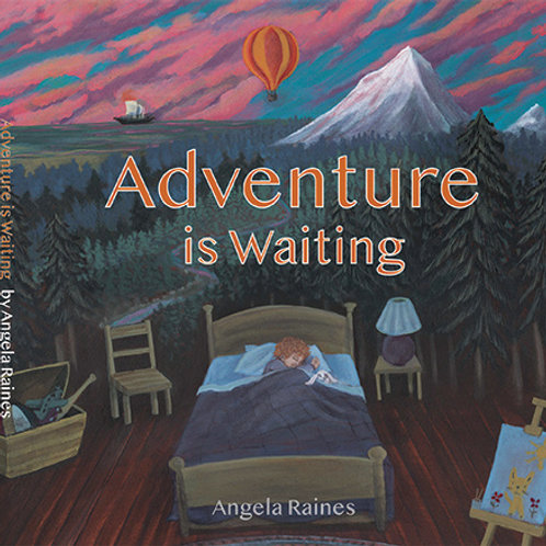 """Adventure is Waiting"" board book"