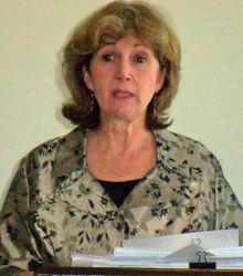 5/2010 Program Meeting:  Judith Heineman