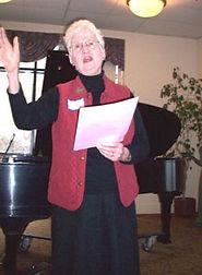 12/2008 Program Meeting:  Charlotte Johnston
