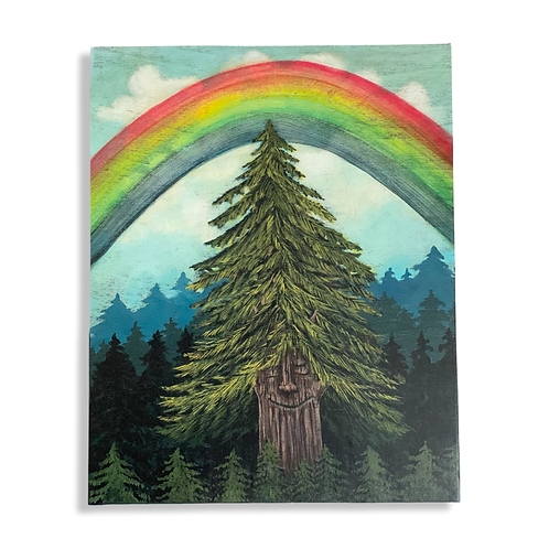 The Life of a Tree print