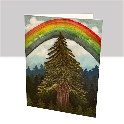 The Life of a Tree card set