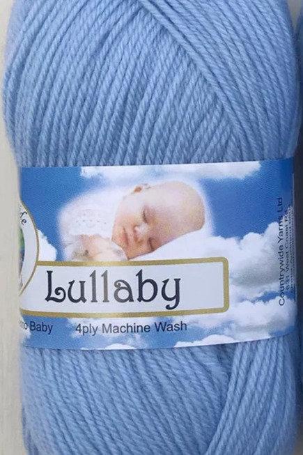 Lullaby 4 PLY DK 100% Merino 50gm Baby Blue