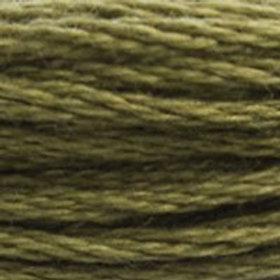 DM117-3011 STRANDED COTTON 8M SKEIN Artichoke Green