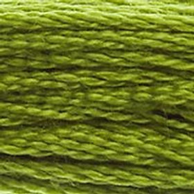 DM117-0581 STRANDED COTTON 8M SKEIN Grasshopper Green