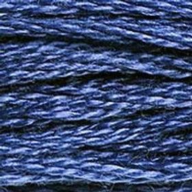 DM117-0312 STRANDED COTTON 8M SKEIN Night Blue