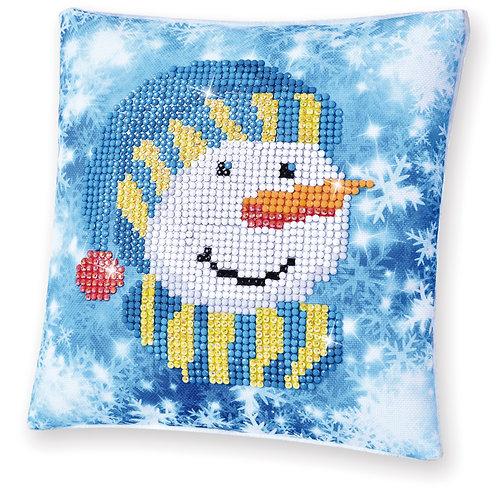 Diamond Dotz Snowman Cap (Mini Pillow)