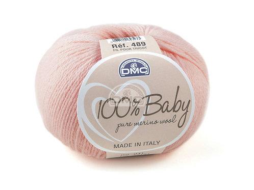 DMC 100% Baby Merino Pink -041
