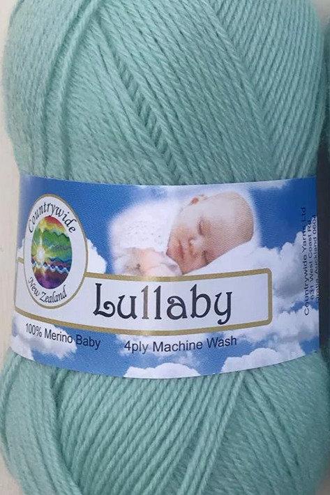 Lullaby 4 PLY DK 100% Merino 50gm Mint