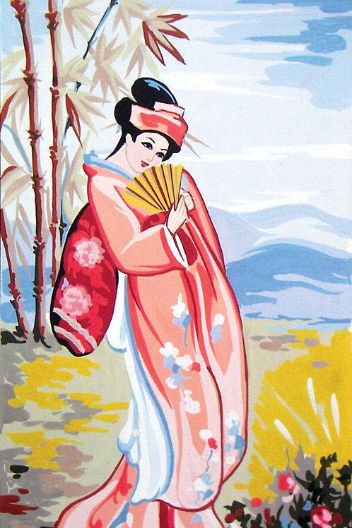 Grafitec Printed Tapestry Geisha in Summer