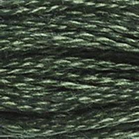 DM117-0520 STRANDED COTTON 8M SKEIN Dark Fern Green
