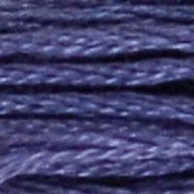 DM117-0032 STRANDED COTTON 8M SKEIN DARK BLUEBERRY