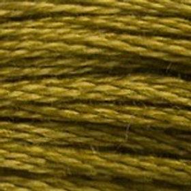 DM117-0831 STRANDED COTTON 8M SKEIN Green Bronze