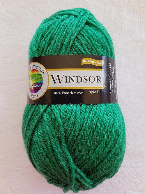 Windsor Standard 8 PLY DK 100% Wool 50gm Green