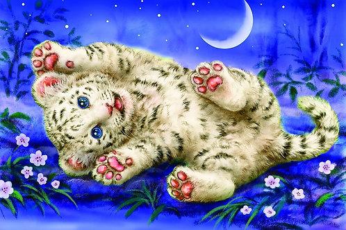 Grafitec Printed Tapestry Happy Tiger