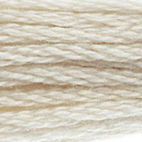 DM117-3866 STRANDED COTTON 8M SKEIN Garlic Cream