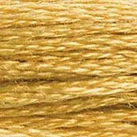 DM117-0729 STRANDED COTTON 8M SKEIN Honey Gold