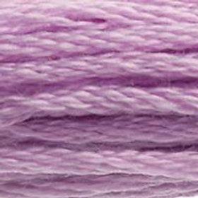 DM117-0153 STRANDED COTTON 8M SKEIN Lilac Rose