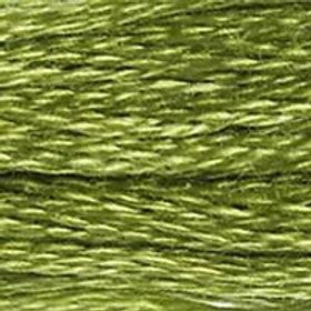 DM117-0471 STRANDED COTTON 8M SKEIN Tarragon Green