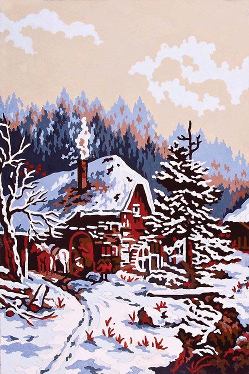 Grafitec Printed Tapestry Snow Scene