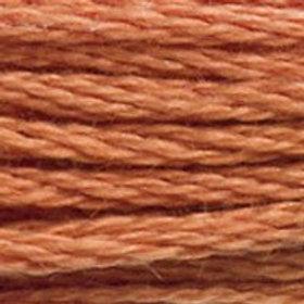 DM117-3776 STRANDED COTTON 8M SKEIN Dark Nutmeg Brown