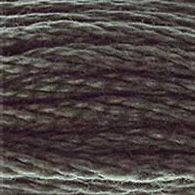 DM117-0645 STRANDED COTTON 8M SKEIN Dark Steel Grey