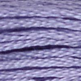DM117-0030 STRANDED COTTON 8M SKEIN MEDIUM LIGHT BLUEBERRY