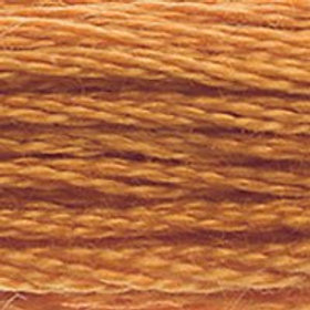 DM117-0976 STRANDED COTTON 8M SKEIN Nutmeg Brown