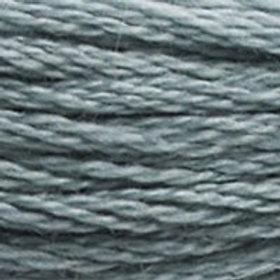 DM117-0926 STRANDED COTTON 8M SKEIN Grey Green
