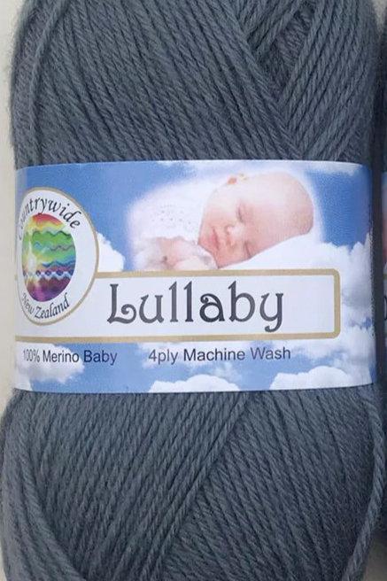 Lullaby 4 PLY DK 100% Merino 50gm Pewter