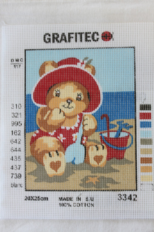 Grafitec Printed Tapestry Beach Bear