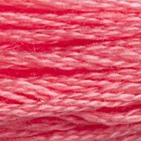 DM117-3706 STRANDED COTTON 8M SKEIN Flamingo Pink