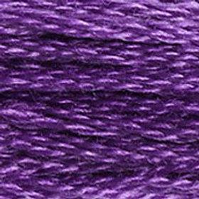 DM117-3837 STRANDED COTTON 8M SKEIN Deep Violet