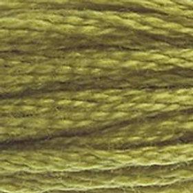 DM117-0733 STRANDED COTTON 8M SKEIN Golden Green