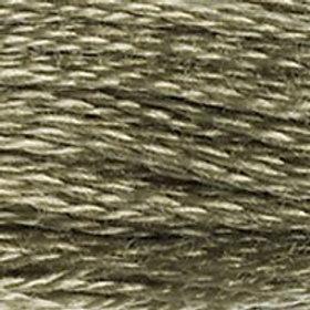 DM117-3032 STRANDED COTTON 8M SKEIN Dark Antique Silver