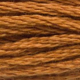 DM117-3826 STRANDED COTTON 8M SKEIN Golden Brown