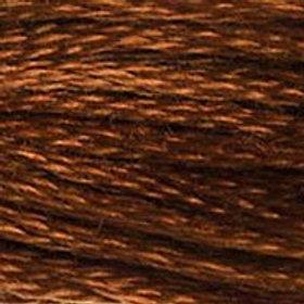 DM117-0975 STRANDED COTTON 8M SKEIN Chestnut Brown