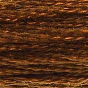DM117-0433 STRANDED COTTON 8M SKEIN Chocolate Brown