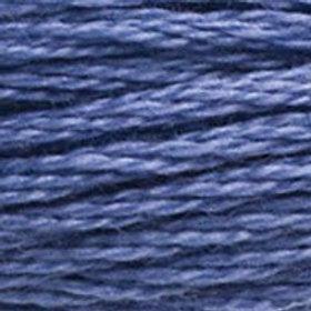 DM117-3807 STRANDED COTTON 8M SKEIN Cornflower Blue