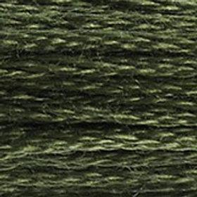 DM117-3051 STRANDED COTTON 8M SKEIN Olive Tree Green