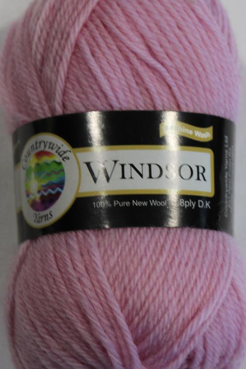 Windsor Standard 8 PLY DK 100% Wool 50gm Pink