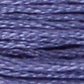 DM117-0031 STRANDED COTTON 8M SKEIN BLUEBERRY