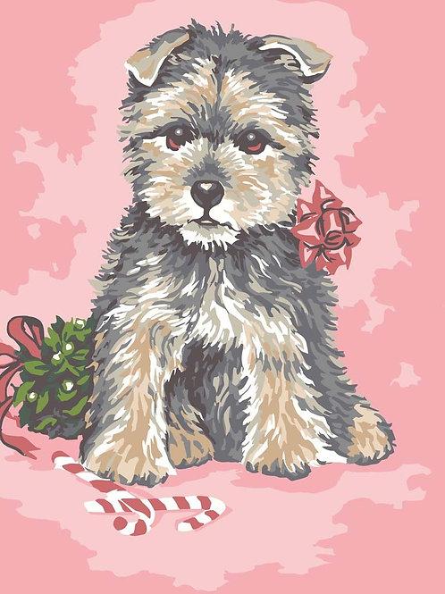 Grafitec Printed Tapestry Dressed up Pup